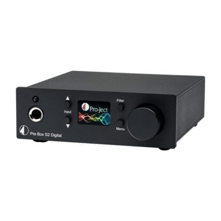 Pro-Ject Pre Box S2 Digital - Black