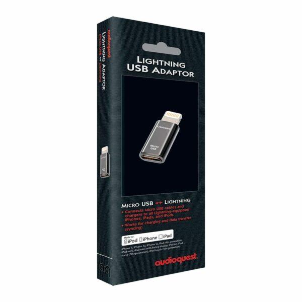 AudioQuest Adattatore Micro USB-a-Lightning