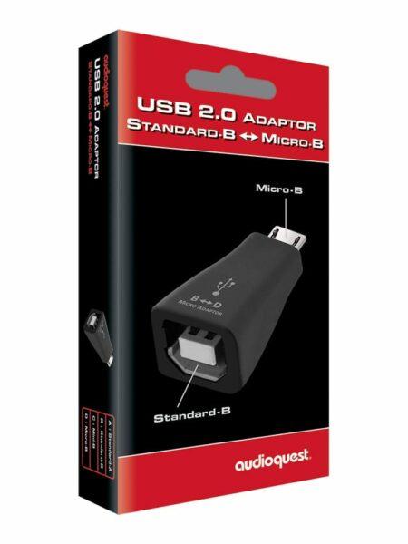 AudioQuest Adattatore USB Mini-a-Micro 2.0
